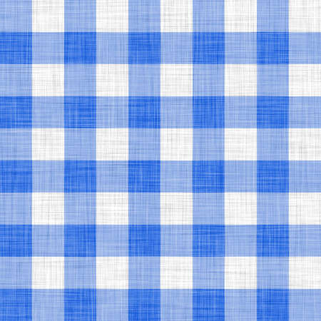 tela algodon: pa�o azul picnic  Foto de archivo