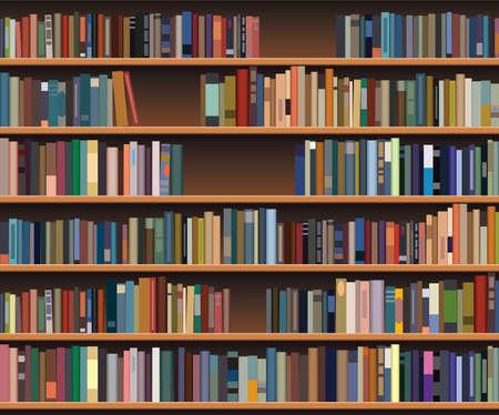 bookcases: bookshelf