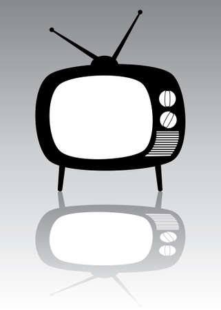 retro tv set Stock Vector - 7163305