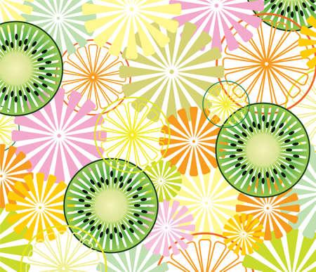 abstract fruit: Fondo de fruta abstracta de vector