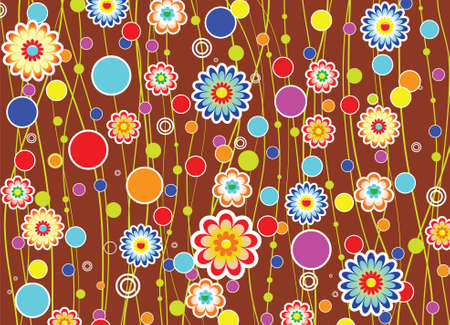 floral background Stock Vector - 7587870