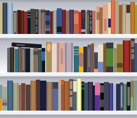 bookcases: modern bookshelf