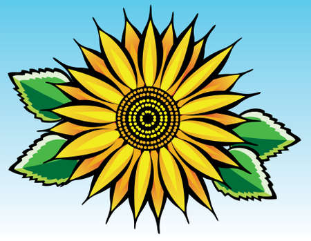 sunflower Stock Vector - 7782208