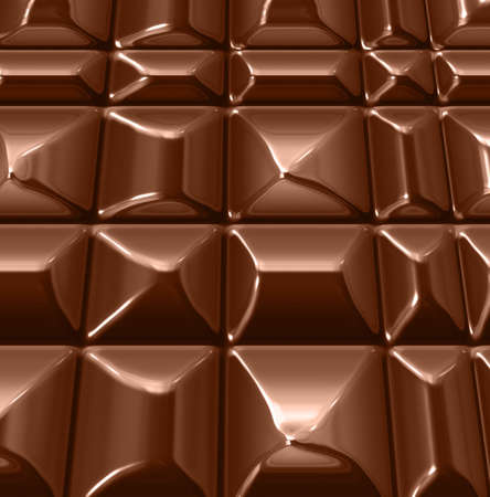 indulgence: abstract chocolate background