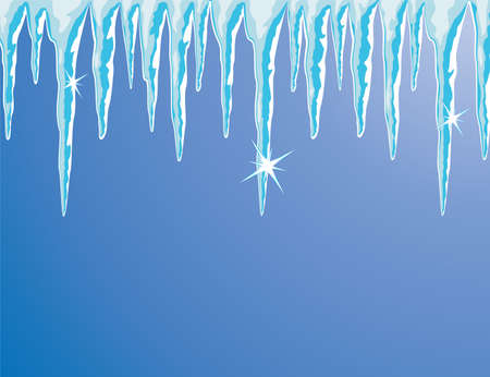 shiny icicles Stock Vector - 8026853