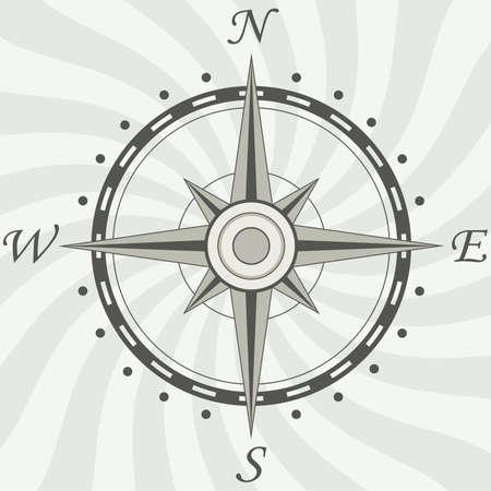 ir�ny: vintage compass