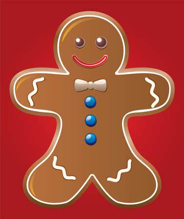 gingerbread cake: gingerbread cookie