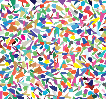 background of colorful splinters Vector
