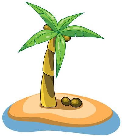 palm clip-art Stock Vector - 8355034