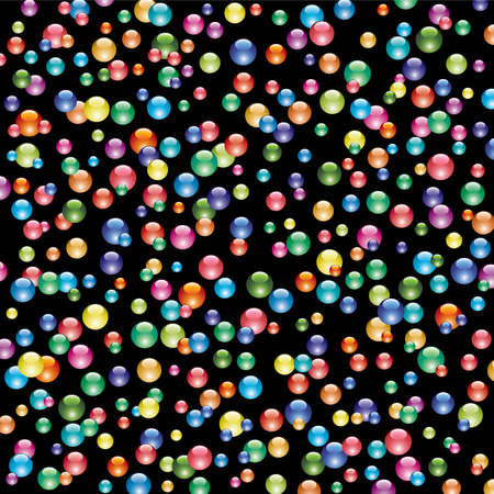 background of shiny bubbles Stock Vector - 8437434