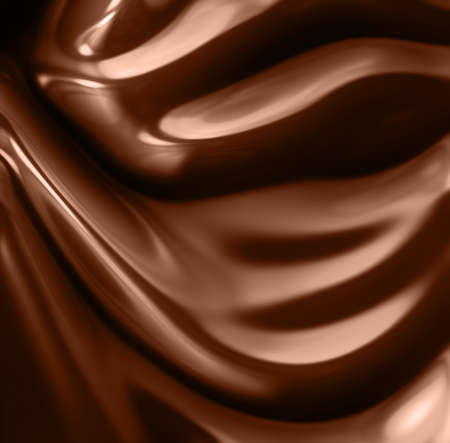 abstract wavy chocolate background photo