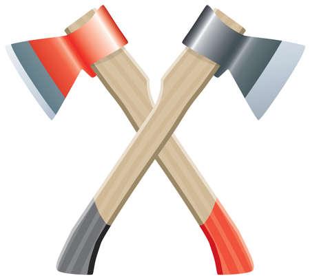 lumberjack: two vector axes
