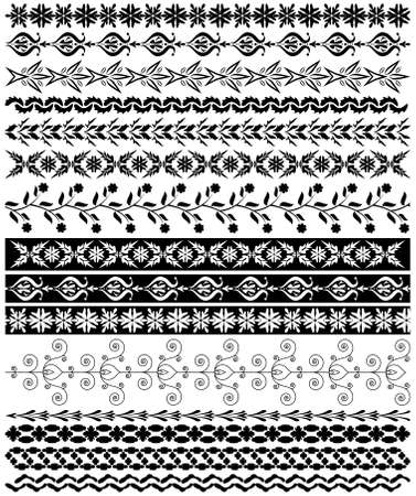 vector decorative borders Stock Vector - 9047289