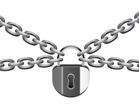 ligotage: cadenas et cha�ne en m�tal
