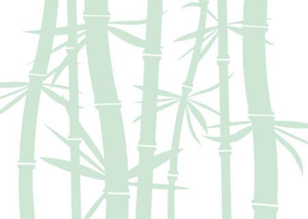bamboo leaf: vector bamboo background