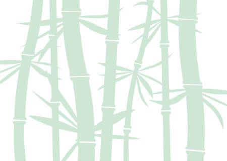 vector bamboo background Stock Vector - 10036527