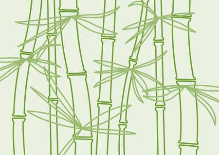 vector bamboo background Vector
