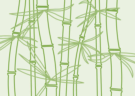 vector bamboo background Vector