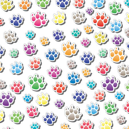 vector background of dog Stock Vector - 10036552