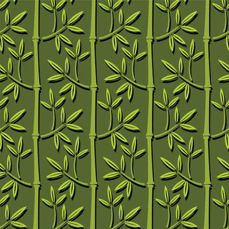 seamless bamboo wallpaper Vector