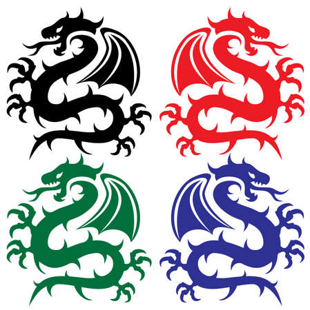 chinese dragon: design of dragons