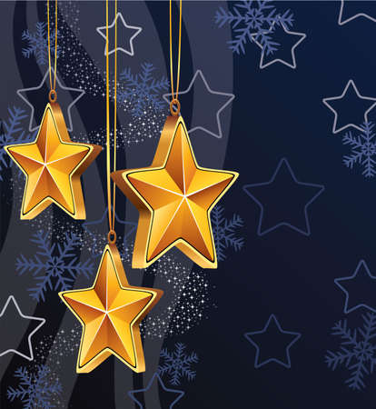 vector winter holiday decoration Vector