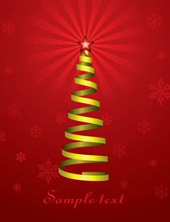 vector christmas holiday tree Stock Vector - 11463989