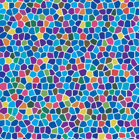 vector abstracte kleurrijke mozaïek achtergrond