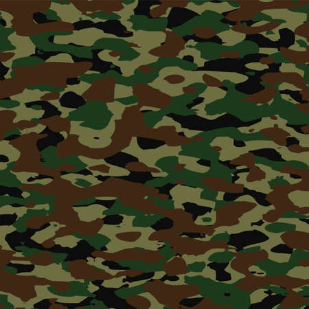vector summer camouflage pattern Vector