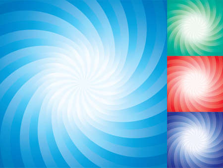 vector set of abstract star burst backgrounds  Illustration