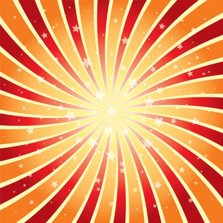 starbursts: de vectores de fondo abstracto de la explosi�n de la estrella EPS 10 Vectores