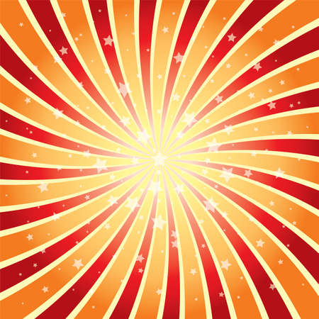 vector abstract background of star burst eps 10 Illustration