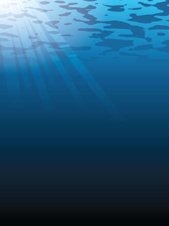 underwater vector background eps 10 Vector