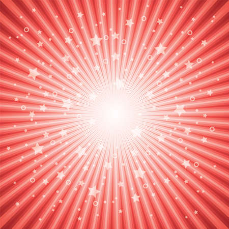 vector abstract background of red star burst eps 10