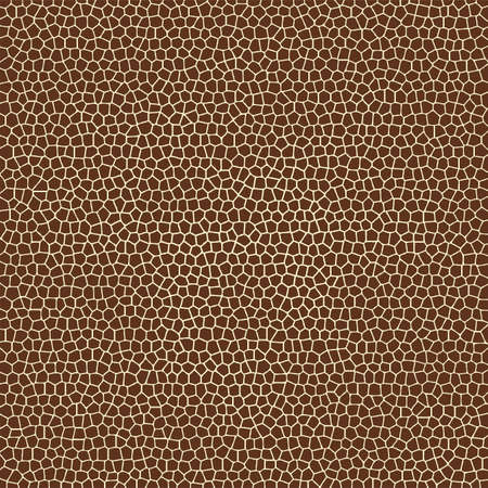 vector animal skin textures of giraffe Vector
