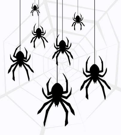 aranha: ilustra Ilustra��o