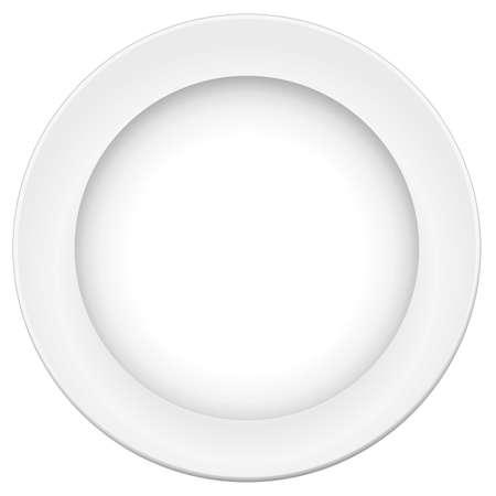 piatto cibo: piastra