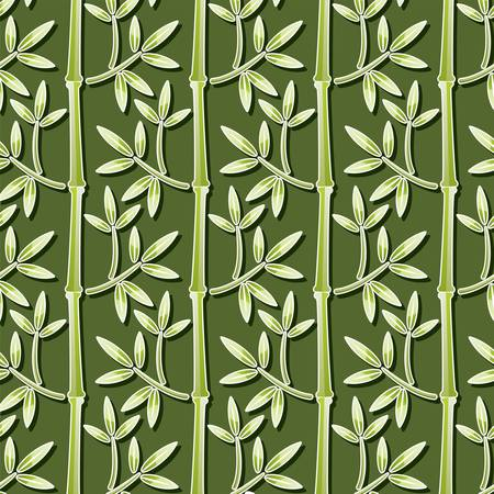 seamless bamboo wallpaper  Vector