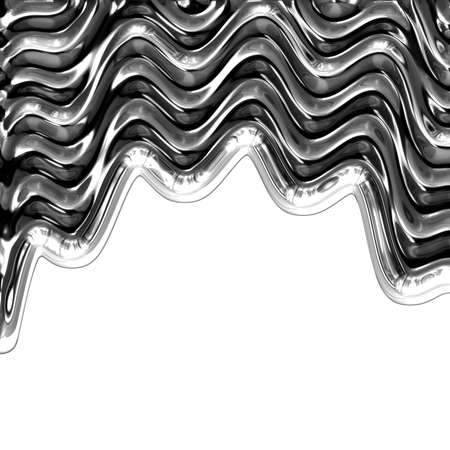 liquid metal abstract background with space for your text photo