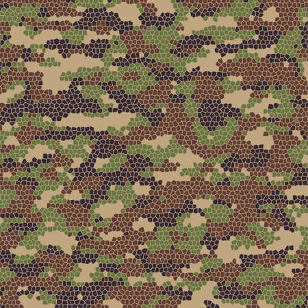 abstract summer camouflage pattern Vector