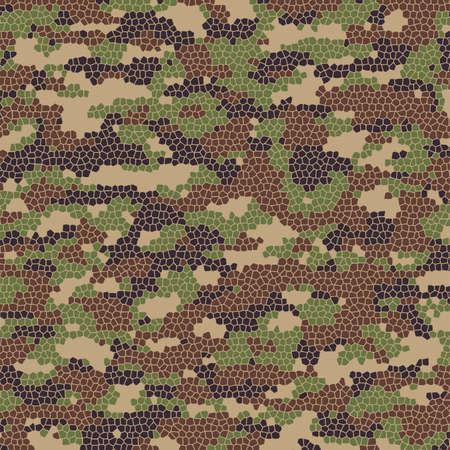 camuflaje: verano abstracto patrón de camuflaje