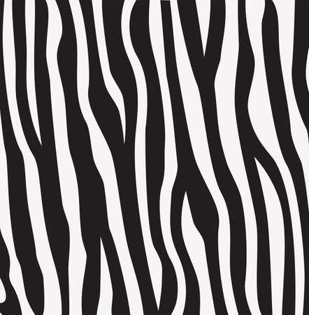 zebra print: vector abstract skin texture of zebra print pattern
