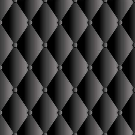 black leather upholstery background Vector