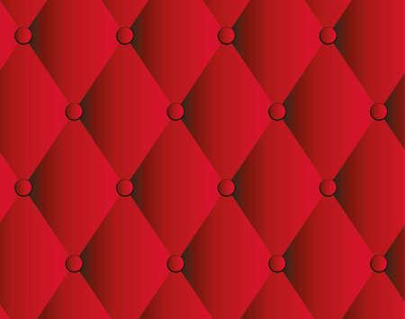 Rosso sfondo tappezzeria in pelle Archivio Fotografico - 22541804