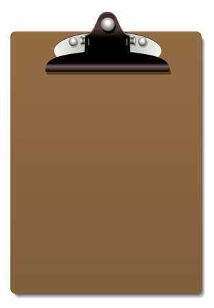 clipboard with no paper  Vector