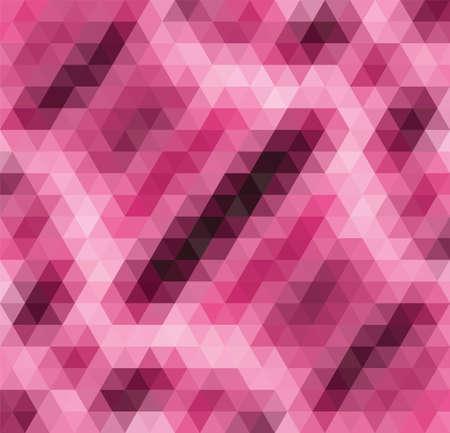 abstract pink: abstract pink mosaic pattern Illustration