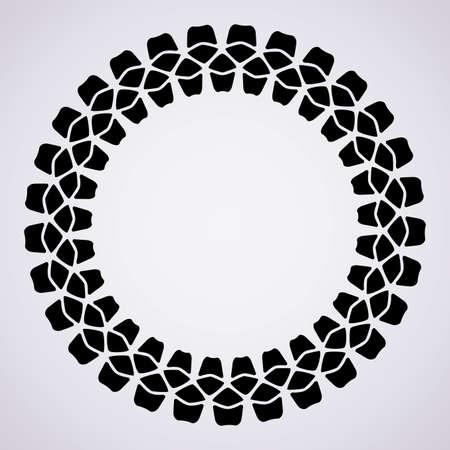 ベクター印刷タイヤの設計およびコピー スペース