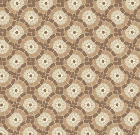 tile mosaic floor, stone background pattern  Vector