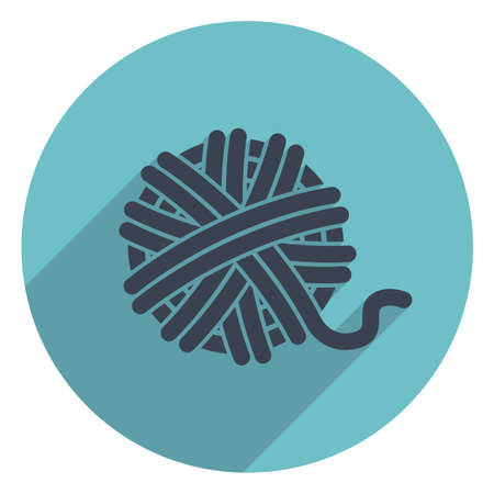 skein: vector yarn ball icon