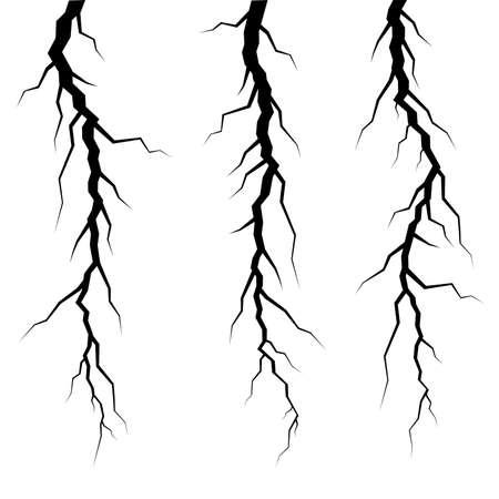 cracks: vector cracks in ice or wall